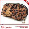 Sac cosmétique de léopard fait sur commande promotionnel, sac de renivellement