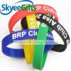 Bracelete de silicone impresso personalizado personalizado ecologicamente correto