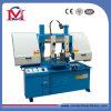 Metal que corta a máquina de Sawing horizontal da faixa da coluna dobro (GH4228)