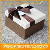 Empaquetage de papier élégant de boîte-cadeau de carton fait sur commande