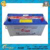 JIS N100 standard 12V100ah sèchent la batterie de voiture de charge