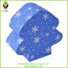 Коробка подарка рождества бумаги печатание яркия блеска снежинки