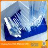 Folha acrílica plástica desobstruída do plexiglás do molde da folha/altamente da transparência