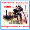 Azamerica S1005 Nusky N21g HD GPRS Iks Decoder для Южной Америки