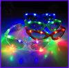 Verres de LED et lunettes légers de lueur