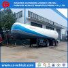 Acoplado del tanque del transporte del Tri-Árbol 56000L 25tons LPG para Suramérica
