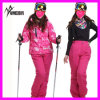 Revestimento de esqui elegante de 2014 mulheres impermeáveis do inverno da alta qualidade