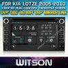 KIA Lotze (W2-D8527K)를 위한 GPS를 가진 Witson Car DVD