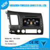 Reproductor de DVD 1080P de S100 Car para Honda Civic con CPU de A8 Chipest, GPS, Radio, BT, TV, USB, SD, iPod, 3G, WiFi