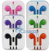 New colorido Mic+Volume Remote Earphone W/Headset Earpods para o iPhone 5 de Apple, 5g