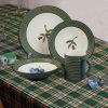 Utensílios de mesa cerâmicos