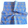 Enveloppe promotionnelle de tête du Bandana de logo d'ours de l'enfant bleu adapté aux besoins du client de coton imprimé par dessin animé