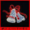 Luz ao ar livre do motivo de Bell de Natal do diodo emissor de luz da fantasia da decoração