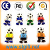 Mini PVC Pen Drive del USB di Cartoon Footballer Shape 8GB Memory Stick