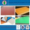 MDF laminado da melamina 4X8 papel colorido