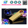 USB 2.0 Flash Drive 4GB 8GB Gold Shape