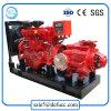 Grande pompa di scolo centrifuga montata rimorchio del motore diesel di flusso
