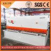 De hydraulische Scherende Machine QC12y-10X4000 van de Straal van de Schommeling