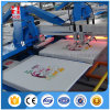 8 impresoras ovales de la pantalla de los colores para la camiseta y la materia textil