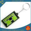 Yoour를 소유한다 로고 고무 PVC Keychain를 만드십시오