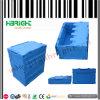 Het vouwen van Opvouwbaar Plastic Krat met Deksel voor Opslag