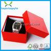 Rectángulo de regalo de papel de encargo del reloj de la cartulina con buen precio