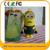 5200mAh Hotsell Despicable me pvc Power Bank voor iPhone/Samsung (EP37)