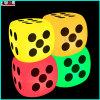 La DEL a illuminé les lampes rougeoyantes de montage de matrices de matrices de cube