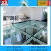kleurde de Duidelijke Uitstekende kwaliteit van 319mm Aangemaakte Gelamineerde Prijs van de Vloer van het Glas
