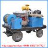 línea de alcantarilla de 500-1000m m motor diesel 121kw del equipo de la limpieza del tubo de desagüe