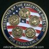 싼 주문 사기질 미국 육군 금속 도전 동전
