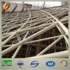 Edificio prefabricado del braguero del tubo de la estructura de acero para el estadio