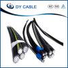 Duplexabsinken AAC-Aluminium Leiter des service-0.6/1kv (ABC-Kabel)