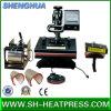 Precio de fábrica 6 en 1 máquina combinada de la prensa del calor