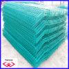 Dunkelgrüne PVC-überzogene Zaun-Filetarbeit (TYD-060)