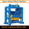 Máquina manual oca concreta do bloco (QT40-2)