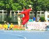 Non corte di palla a muro della colla, pavimentazione pura della corte di sport del polipropilene di 100%