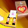 Бумажные вино /Wooden картона/коробка упаковки подарка (PB/W06)