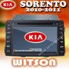Witson KIA Sorento 2010の自動無線車DVD (W2-9517K)