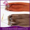 Mikroring-Haar-einschlagextensions-Jungfrau Remy menschliches brasilianisches Haar