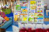 Nuevo equipo de exhibición para el jardín de la infancia