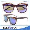 De met de hand gemaakte Zuivere Zonnebril van Ce van het Effect van de Acetaat van het Frame van de Kleur