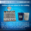 15-25 해안 Liquid Car Tyre Moulding Silikon Rubber