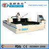 CNC контролирует автомат для резки лазера волокна для разностороннего металлического листа