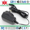 Parede-Mount Switching Power Adapter da C.C. 1A de 5W 5V, Class II, Lps/Universal Input, Customized Designs