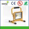 10W Rechargeable Portable DEL Flood Light