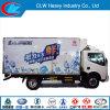Caminhão do refrigerador de Dongfeng 4*2 da boa qualidade