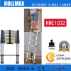 Волшебное Aluminum Telescopic Single Ladder с En131 CE GS Kme1032