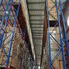 Rek van de Pallet van het Pakhuis van de Opslag van het Metaal van het staal het Op zwaar werk berekende