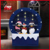 Pinguino all'ingrosso Family Scene di Christmas Decoration Snowflake per natale